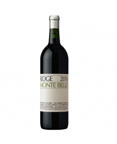 Ridge Vineyards Monte Bello 2016