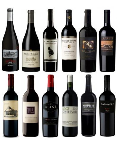 Degustační set 12 skvělých červených vín