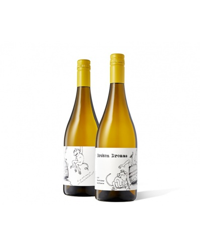 Slo Down Wines Broken Dreams Chardonnay 2019