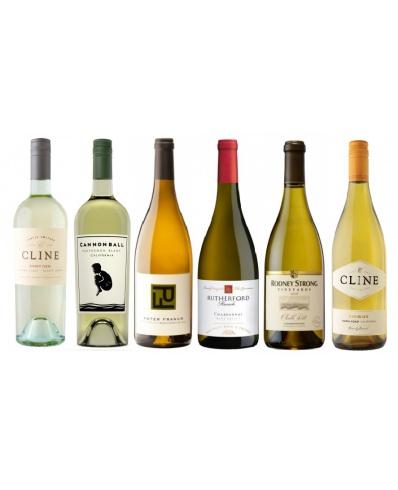 Degustační balíček 6 bílých vín